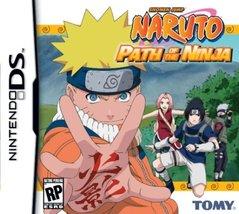 Naruto: Path of The Ninja - Nintendo DS [video game] - $8.97