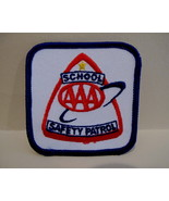 AAA SCHOOL SAFETY PATROL Patch Souvenir Crest Emblem Sew On Collectible - $5.95