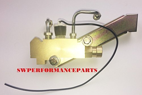 A-Team Performance Disc/Disc PV4 Proportioning Valve Side Kit Mount Brake Lines