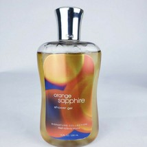 Bath & Body Works ORANGE SAPPHIRE Shower Gel 10 oz Body Wash New Retired... - $22.43