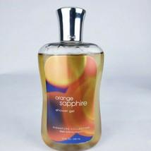 Bath & Body Works Orange Sapphire Shower Gel 10 Oz Body Wash New Retired Scent - $22.43