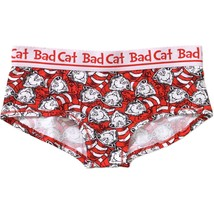 Dr. Seuss Women's Girlie Short Panties Size Small (5) Red & White NEW Ba... - $10.88