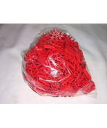 KNEX 100 piece Lot of Red Connectors - $10.00
