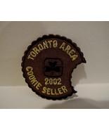 GIRL SCOUTS GUIDES Cookie Seller Patch Souvenir Crest Emblem TORONTO 2002 - $4.95