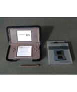 FULLY TESTED Original Nintendo DS Lite Pink Handheld System W Charger Ne... - $44.54