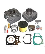 Fits Honda Rancher Trx350 TRX 350 Big Bore 355cc Cylinder Head Piston Kit 2000 2 - $225.35