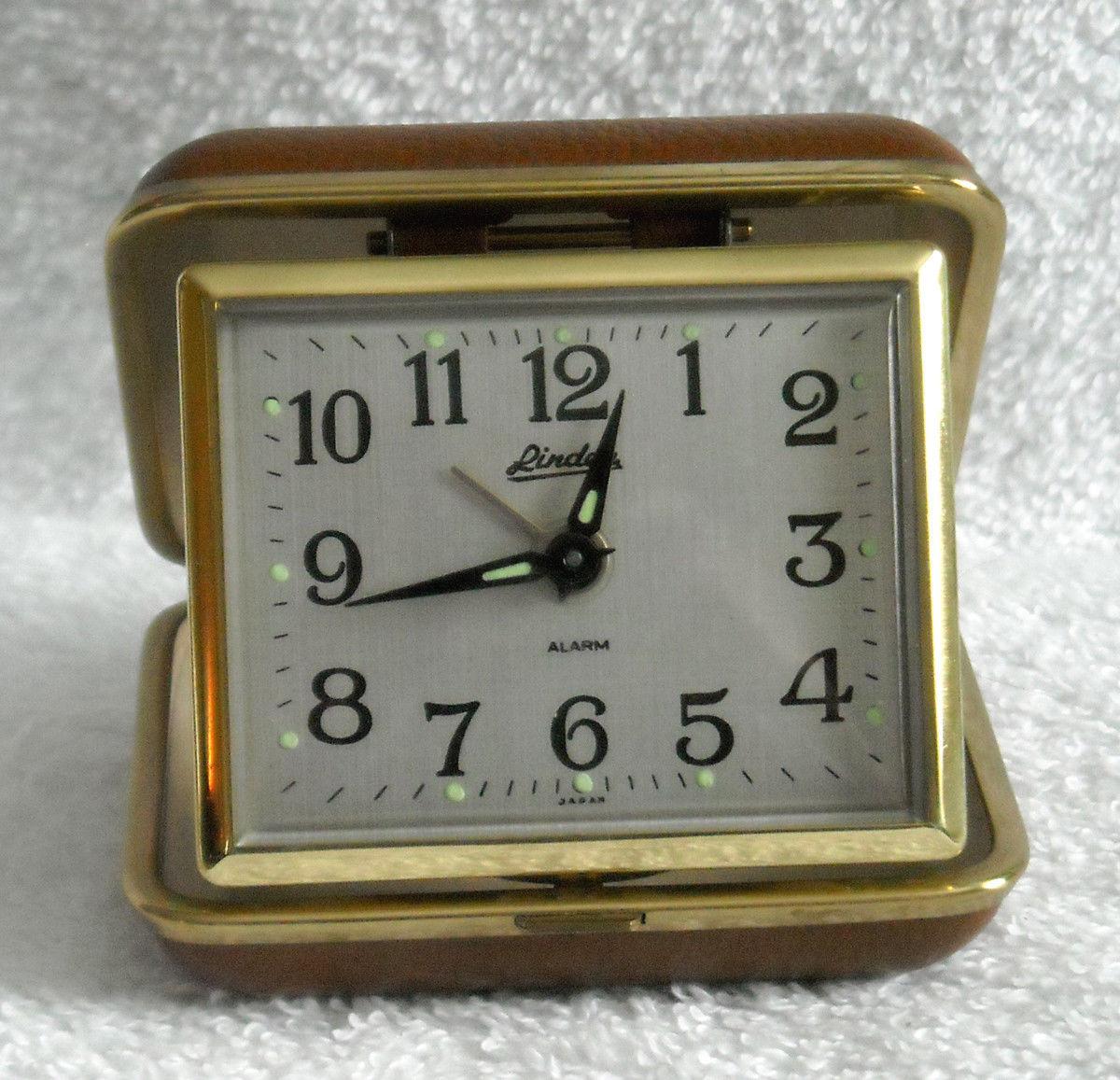 Vintage Linden Wind Up Travel Alarm Clock And 10 Similar Items