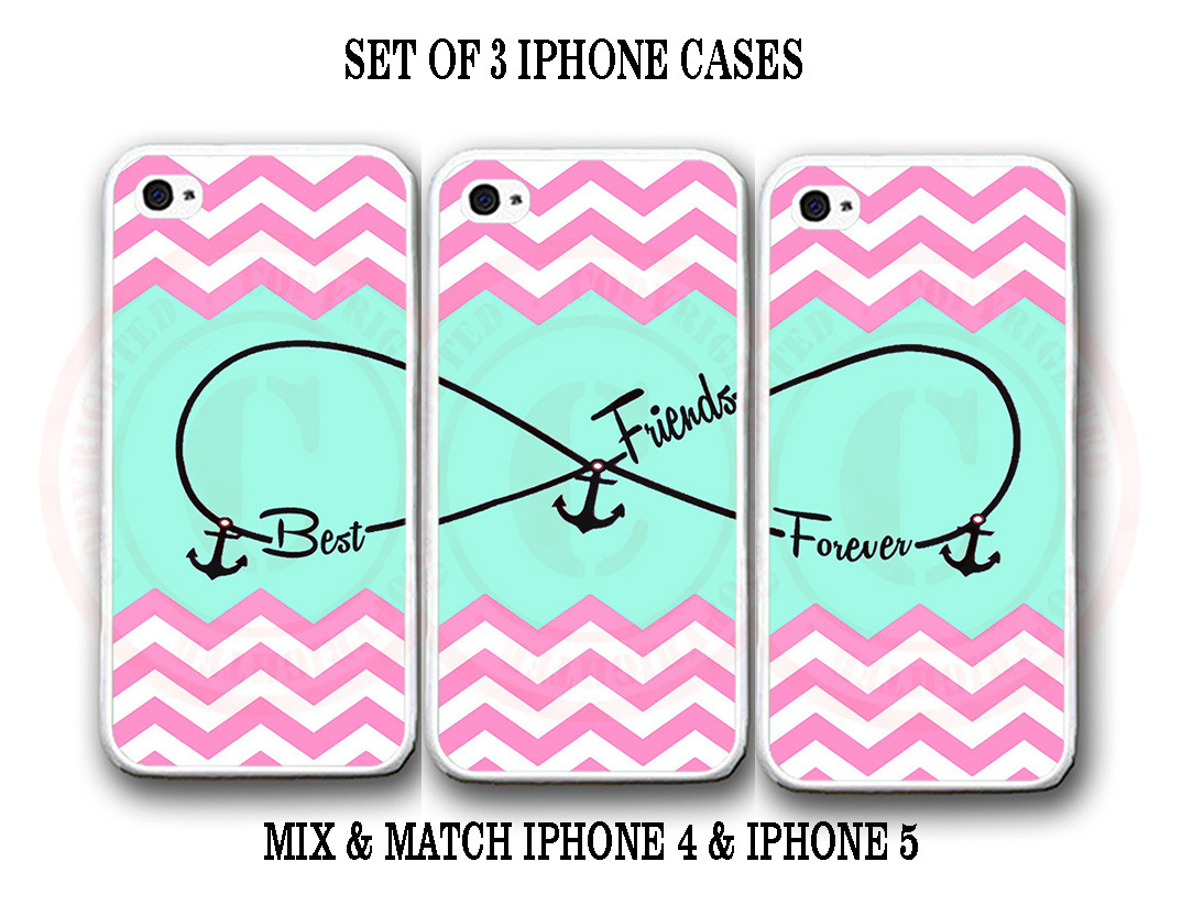 personalized pink chevron mint bff best and 50 similar items