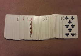 Poker Bingo Game Replacement Pieces Deck Of 54 Small Cards Vintage 1972 - $8.59
