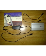 "USB 2.0 HDD IDE Hard Drive Disk Silver Platinum Enclosure Kit 3.5"" Windo... - $14.99"