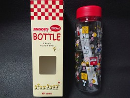 SNOOPY Original Bottle 500ml JAPAN POST Limited Item Rare Not sold in stores - $36.45
