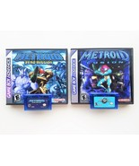 Metroid Fusion & Zero Mission w/ Custom Case Bundle (Gameboy Advance - GBA) - $41.80