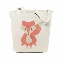 Fox Cotton Canvas Tote Bag - $22.77