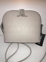 Steve Madden handbag BMarilyn Stamped Logo Bisque With Silver Hardware - $48.00