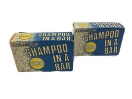 Lot of 2 COSWAY'S Shampoo In A Bar 1980's Vintage Original Box - $9.89