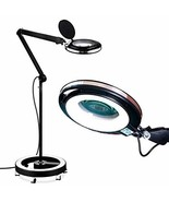 Brightech LightView Pro 6 Wheel Rolling Base Magnifying Floor Lamp - Mag... - $105.99