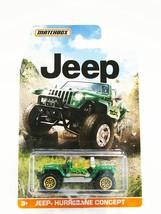 2015 Matchbox Jeep Series Jeep Hurricane Concept (Green) - $5.99