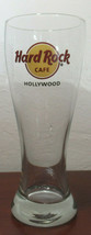Hard Rock Cafe Hollywood Pilsner Syle Beer Glass Great Condition - $13.86