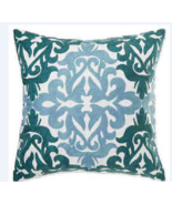 Make-Your-Own-Pillow Del Ray Square Throw Pillow Cover - Aqua - Size:20X20 - $39.62 CAD