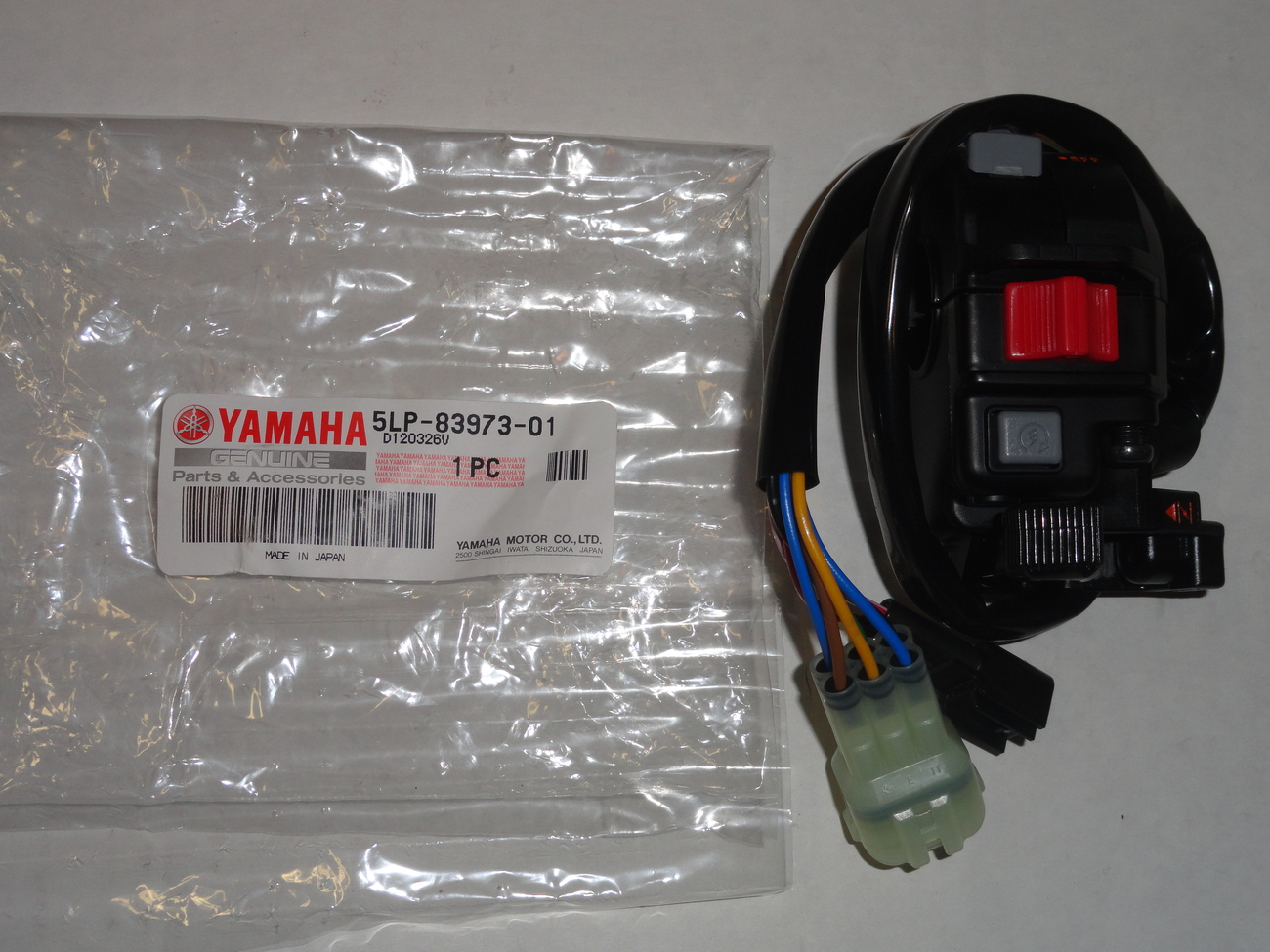 Key On Off Main Switch OEM Genuine Yamaha Banshee YFZ350 YFZ 350 02-06
