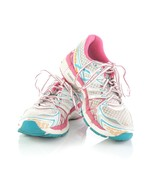 Asics Gel Kayano 20 Womens Running Shoes Sneakers White Pink Womens 8 SN... - $39.42