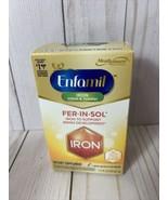 Enfamil Fer-In-Sol Drops 50 mL for Infants & Toddlers - 11/2021 - $13.55