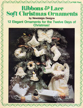 RIBBONS & LACE SOFT CHRISTMAS ORNAMENTS 12 DAYS OF CHRISTMAS - $5.50