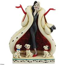 Enesco Disney Traditions by Jim Shore 101 Dalmatians Cruella de Vil with... - $58.62