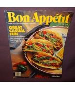 Bon Appetit Magazine March 1988 Great Casual Fun Cozy Winter Dinners Rec... - $6.99