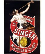 SINGER - Sewing Machine Ad Poster by Cappiello - $27.83