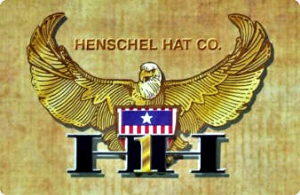 Henschel Garment Leather Brando Biker Cap Chain Sweatband Made In USA Black