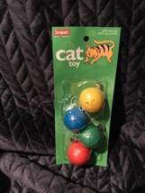 Sergeant's elastisized 4 ball cat toy - $1.89