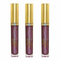 Pack of 3 Milani Stellar Lights Holographic Lip Gloss, Kaleidoscopic Purple 06 - $20.58