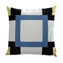 [Quiet Lake] Handmade Unique Grid Decorative Pillowcase 48CM - $21.16