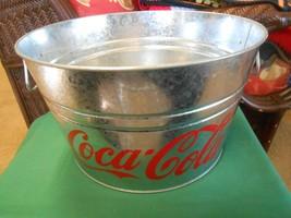 Collectible  COCA COLA..Galvanized KOOLER TUB / BUCKET - $29.29