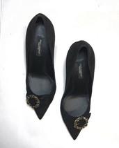 Dolce & Gabbana Black Lori Pumps Size 8 US, 38 Euro. New No Box - $700.00