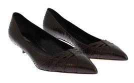 Gabbana Brown Pumps Dolce EU35 Snakeskin Women Heels amp; Kitten 5 US4 waCqFt5
