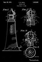 1931 - Lighthouse - Beach House - Reading Lamp - C. W. Neill - Patent Ar... - $9.99+