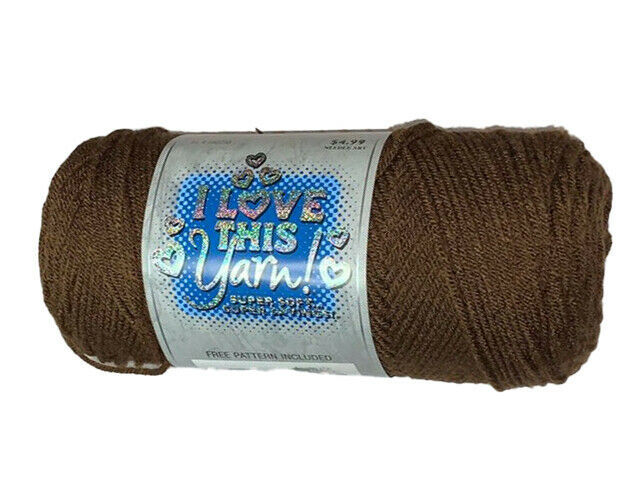 I Love This Yarn in Brown #282293