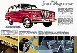 1962 Jeep Wagoneer - Promotional Advertising Poster - $9.99+