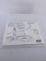 Herrschners Lighthouse Dresser Scarf  Cross Stitch #11-0062 - $8.59