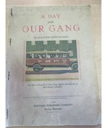 A DAY WITH OUR GANG Eleanor Lewis Packer  SPANKY BUCKWHEAT 1929 Whitman - $34.65