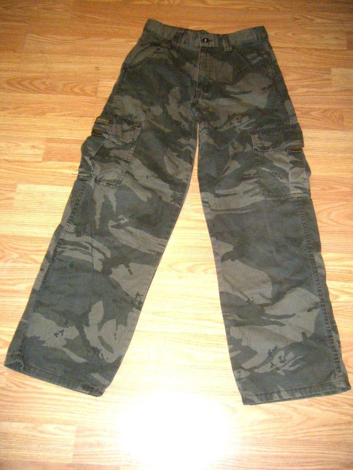 6979c8e316bbe Wrangler Boys Cotton Camouflage Cargo Pants and 50 similar items. 57