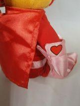 "Disney Store POOH Super Lover Love Valentine Plush Stuffed Bear 8"" image 5"