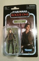 "Star Wars The Vintage Collection Jyn Erso Rogue One 3 3/4"" Inch - $14.80"