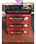 Dunlop Attack Distance & Slazenger Titanium Golf Balls 12 - $5.10