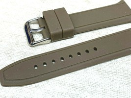 23mm sports Military rubber silicone watch band Green replaces Luminox a... - $18.23