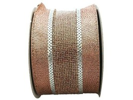 """JoAnn Stores Holiday Charm Maker's Ribbon, 2.5"""" Wire Edged, 25 Feet"""