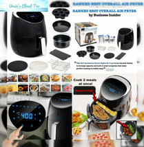 Yedi Total Package XL Air Fryer, Deluxe Accessory Kit, 100 Recipes Inclu... - €114,67 EUR