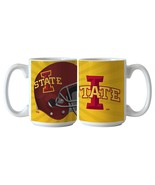 NCAA Iowa State Cyclones Ceramic Burst Mug, 15-ounce, 2-Pack - $27.95